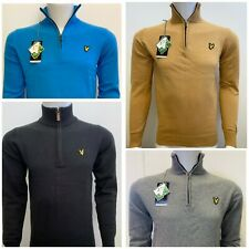 LYLE AND SCOTT LONG SLEEVE ZIP JUMPER  FOR MEN - WINTER SALE
