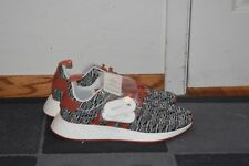 b6e442ddcad NEW Adidas NMD R2 JD Sports Orange and Grey Men s Running Shoes Size 11.5  BY2098