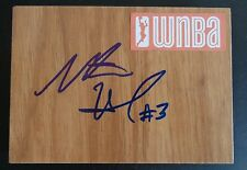 Natasha Howard Signed Wnba Floor Tile Minnesota Lynx Basketball Free Shipping
