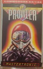 Prowler (Mastertronic, 87) Commodore C64 Cassette (Tape) (Game, Manual, Box)