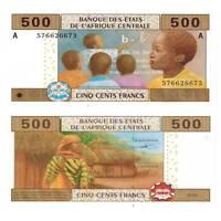 Pick 206Ub Kamerun 500 Francs 2002  Unc. / 1825272vvv.