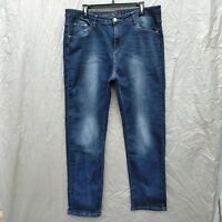 BamBoo Skinny Leg Women's Jeans Size 20  Stretch Distressed Wash