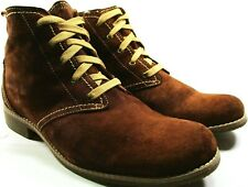 Timberland Earth Keepers Women Ankle Boots Rusty Brown Size 9.5 Euro 41 China