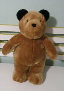 Build-A-Bear TEDDY BEAR BAB Soft Plush Toy 40cm Tall! PADDINGTON BEAR TOY