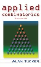 Applied Combinatorics 5Th Ed Int'L Edition