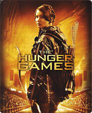 The Hunger Games Jennifer Lawrence (Blu-ray Disc, Steelbook) Collectible Movie