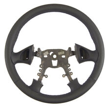 1999-2005 Pontiac Grand Am Steering Wheel Graphite Grey Leather New 22614788