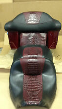 2008-13 Harley Davidson Electra Ultra Glide Seat cover kit with tourpak cover.
