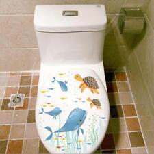 DIY 3D Toilet Seats Wall Stickers Bathroom Decal Vinyl Mural Home Decoration C
