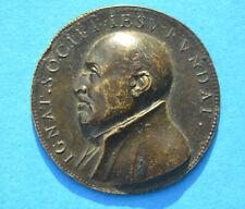 Médaille SAINT IGNACE DE LOYOLA Fondateur Compagnie de Jésus Jésuites 16ème