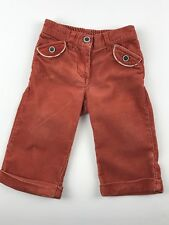 Janie And Jack Baby Girl 6-12 M Pull On Pants Corduroy Rich Coziness Collection