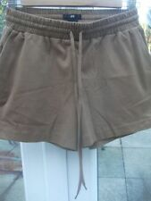 H&M Patternless Hot Pants Shorts for Women