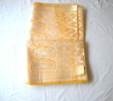 HANDMADE INDIA ART SILK SARI  PARTY BRIDAL SAREE  MULTI COLOR  GOLD ACCENTS