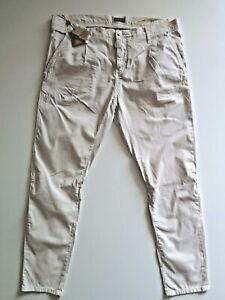 "ANTONY MORATO Men's ""Havel"" Stretch Carrot Trousers Pants Size EU54 - W38 L32"