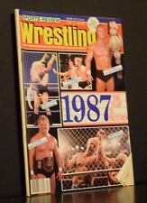 Sports Review Wrestling Magazine 1987 The Year in Pictures April 1988
