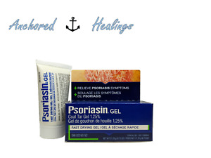 Psoriasin Gel Coal Tar 1.25% Relieve Psoriasis Fast Drying 21.25 grams