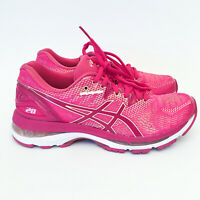Asics Womens Gel-Nimbus 20 Pink Running Training Shoes Sneakers US 6 EU 37