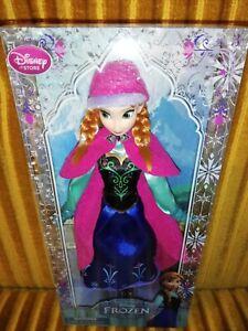 Disney Store Frozen Anna Doll BNIB
