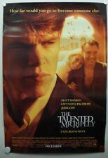 The Talented Mr. Ripley 1999 Matt Damon, Gwyneth Paltrow, Jude Law-One Sheet