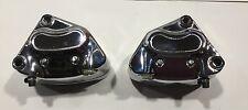 44023/46-00 Harley Davidson Front Brake Caliper Chrome Set L&R With Pads (Loc:WS