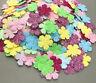 400Pcs Sequins Flowers shape Felt Appliques Mixed Colors Cardmaking Crafts 20mm