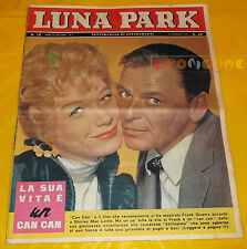 LUNA PARK 1961 n. 16 Frank Sinatra, Shirley MacLaine, Annette Stroyberg