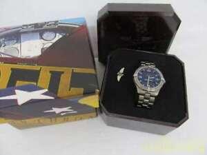 BREITLING Aerospace Titanium Quartz Mens Watch E65062 Used Ex++