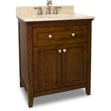 JEFFREY ALEXANDER VANITY WITH PREASSEMBLED TOP AND BOWL VAN090-30-T NEW - QTY 1