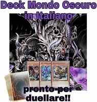 Yu-Gi-Oh! Deck Completo - Mazzo MONDO OSCURO - 40 Carte ITALIANO #MYDECK