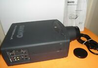 Sanyo Multimedia ProX PLC-5500NA 3LCD Projector, Lightly Used,Works Great!