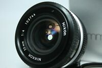 Nikon Non-Ai Nikkor 20mm f/4 Wide Angle MF Lens BOX Mint from Japan