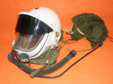 FLIGHT HELMET AVIATOR  PILOT HELMET OXYGEN MASK + HAT  NO USED