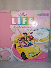 Milton Bradley The Game Of Life HIGH SCHOOL EDITION Designed For Girls  New