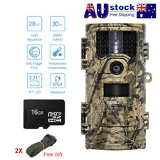 BOBLOV Trail Camera 20MP 1080P Infrared Night Vision Game Wildlife Hunting Cam