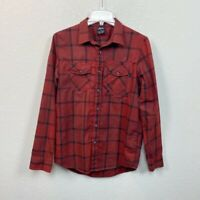 Oakley Plaid Long Sleeve Button Up Shirt Mens size Small Fall Winter
