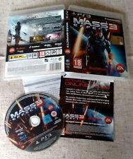 Mass Effect 3 PS3 Perfetta Edizione Italiana Completa con Manuale DiscoaSpecchio