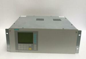 SIEMENS CALOMAT 6E (1P) 7MB25210AA001AA1 GAS ANALYZER FOR HYDROGEN & NOBLE GASES