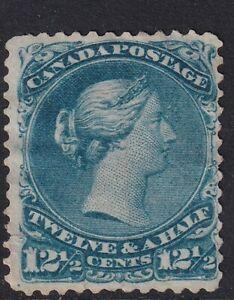 1868 Canada SG60 12 1/2c Bright Blue Unused Cat. £950.00