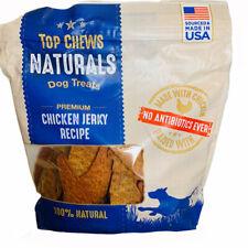 Title - Top Chews 100 Natural Dog Treats Chicken Jerky Recipe 48 Oz 3 LB Model