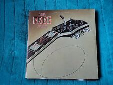 FREE THE FREE STORY LP DOUBLE ALBUM IN NUMBERED G/FOLD COVER ~ 1975 ~EX / EX