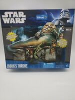 Jabba's Throne Star Wars Legacy Playset w/ Oola Figure Walmart Exclusive SEALED