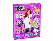 Hello kitty fashion & body tagz designer style set-transferts autocollants 66026