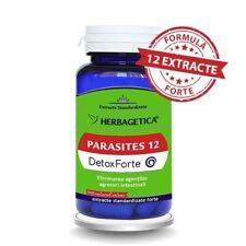 PARASITES 12 DETOX FORTE Parasiten Würmer Entwurmung Anti-Parasitenkur 120 stk