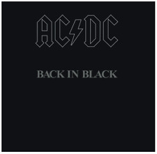 AC/DC - Back in Black (CD) • NEW • Malcolm Young, You Shook Me All Night Long