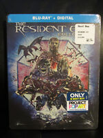 Resident Evil Collection 6 Movie Set Blu-Ray Digital HD Steelbook Region Free