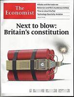 THE ECONOMIST MAGAZINE JUNE 1ST - 7TH 2019-NEXT TO BLOW BRITAIN'S CONSTITUTION
