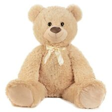 XXL weicher Teddybär Bär 1m groß in Hellbraun Kuscheltier Teddy Kuschelbär
