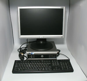 Dell Optiplex 745 & Haans-G monitor. Start small business on shoestring budget!