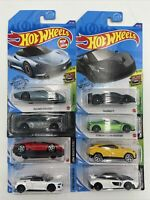 Hot Wheels Exotic Lot of 8 McLaren Lamborghini Pagani Audi Mercedes Ships Free