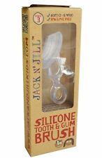JACK N JILL KIDS SILICONE TOOTH & GUM BRUSH - STAGE 3 (2-5 YRS) BPA/PVC FREE